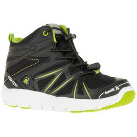 Kamik Juniors Fury Hi GTX Shoes Black/Lime-Noir/Lime